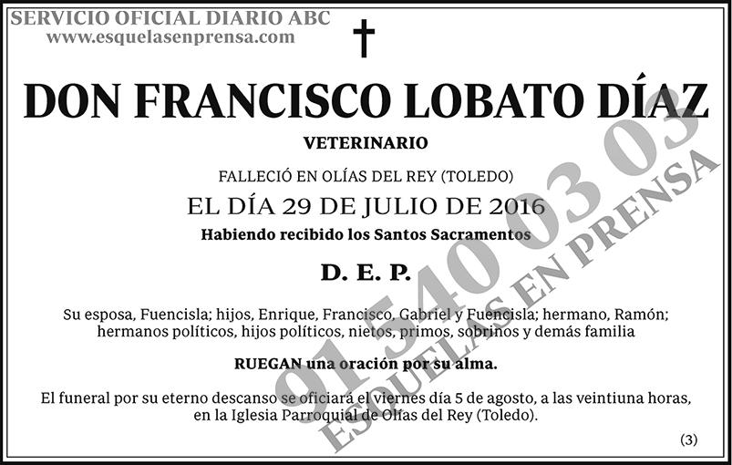 Francisco Lobato Díaz